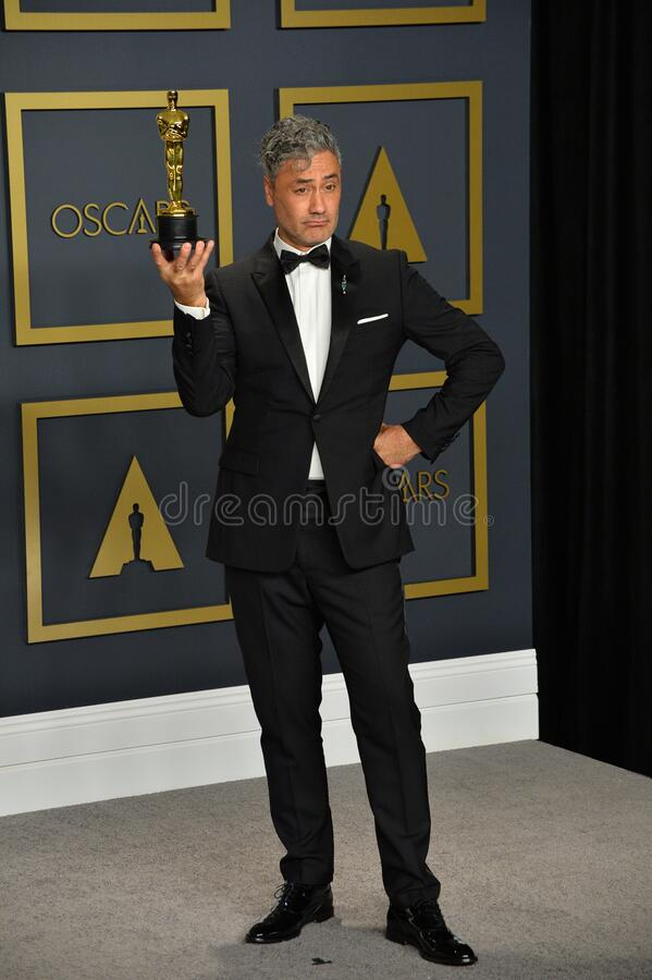 Taika Waititi. LOS ANGELES, USA. February 09, 2020: Taika Waititi at the 92nd Academy Awards at the Dolby Theatre..Picture: Paul Smith/Featureflash stock photography