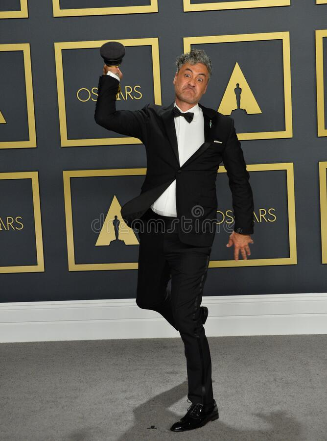 Taika Waititi. LOS ANGELES, USA. February 09, 2020: Taika Waititi at the 92nd Academy Awards at the Dolby Theatre..Picture: Paul Smith/Featureflash stock images