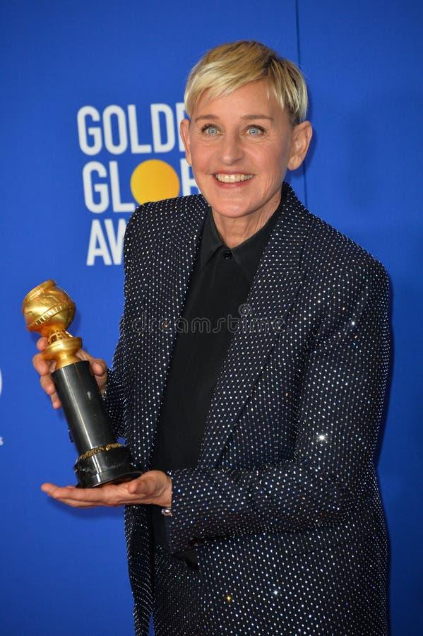 Ellen DeGeneres stock photography