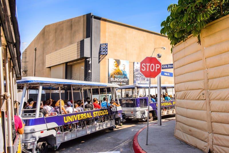Universal Studios Hollywood Park, Los Angeles, USA stock image