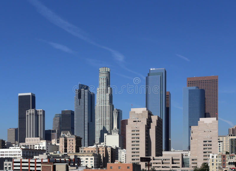 Download Los Angeles stock photo. Image of southern, city, skyscraper - 39506344
