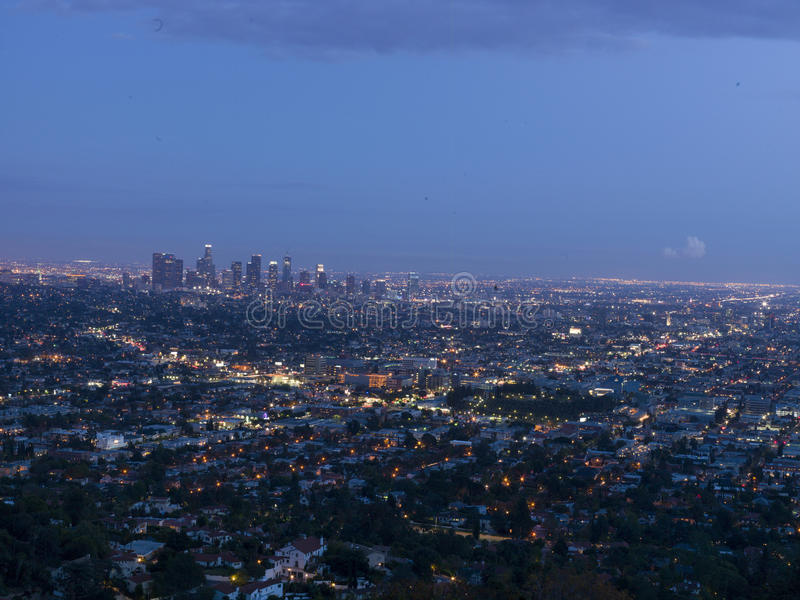 Download Los Angeles View On Sunset, California, USA Editorial Image - Image of park, light: 88419385