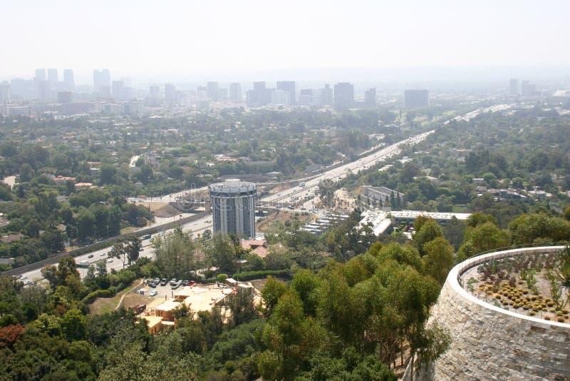 Los Angeles zanieczyszczenie obrazy royalty free