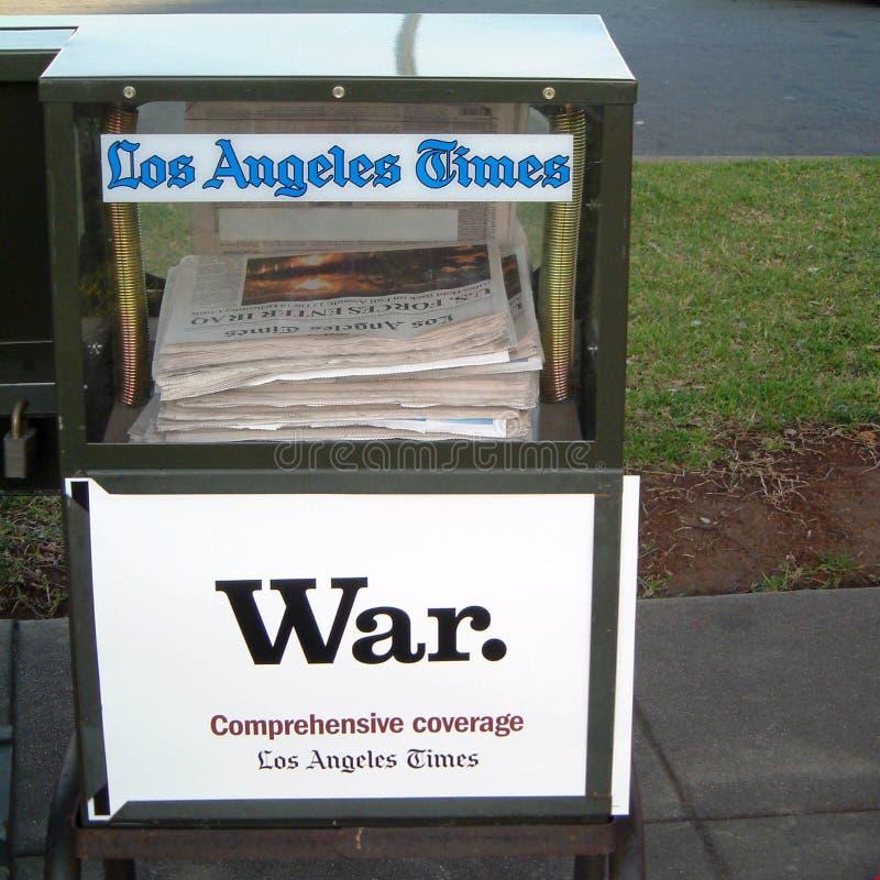 Los- Angeleschronik lizenzfreies stockfoto