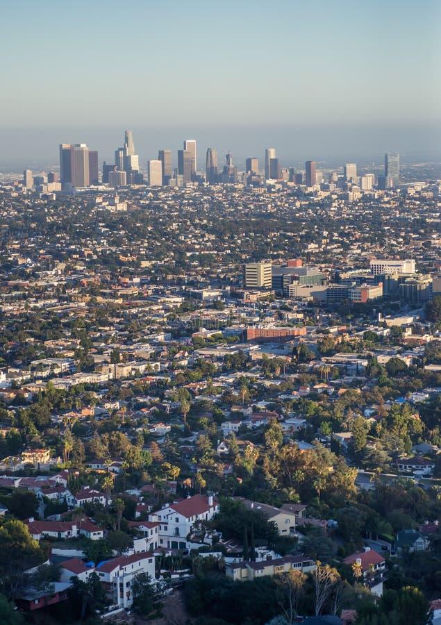 Los- Angelesstadt stockbild