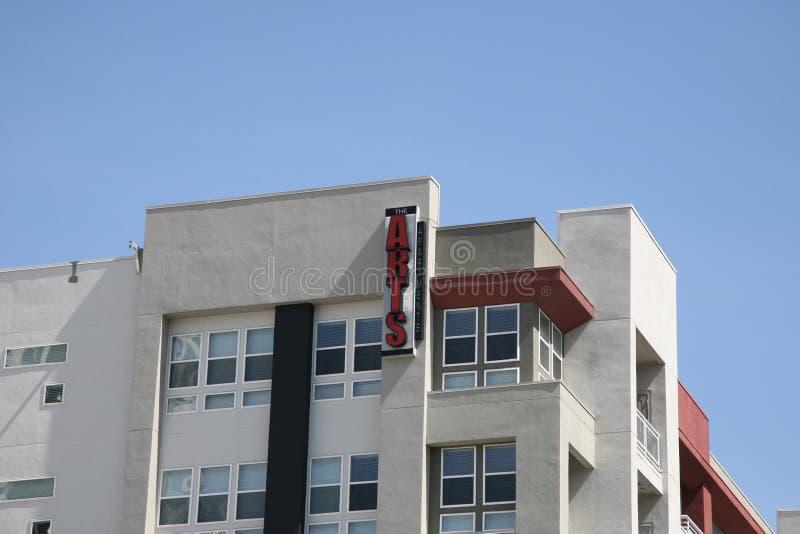 Los apartamentos de los artes, Dallas Texas fotografía de archivo libre de regalías