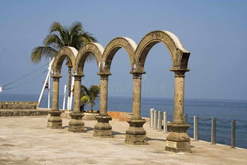 Los Arcos in Mexico stock foto's