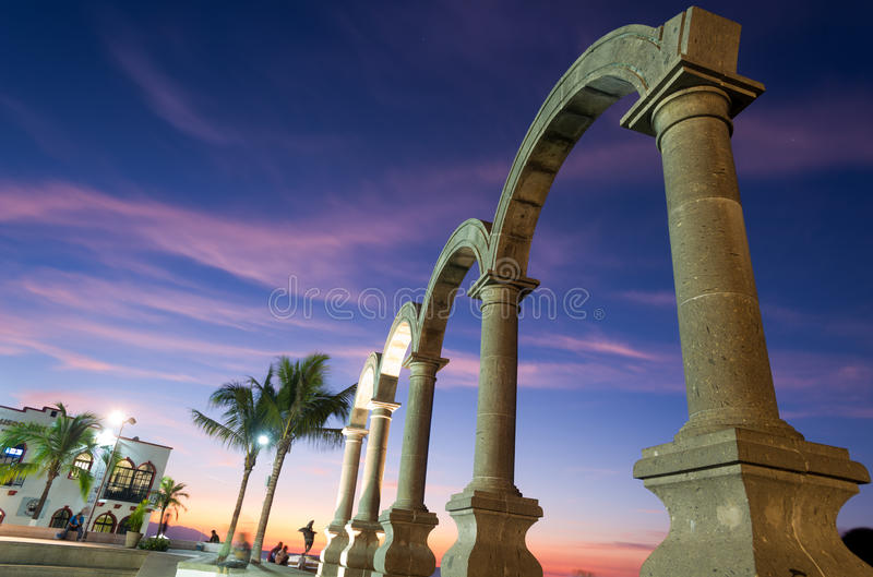 Los Arcos - Puerto Vallarta, Mexico royalty free stock photos