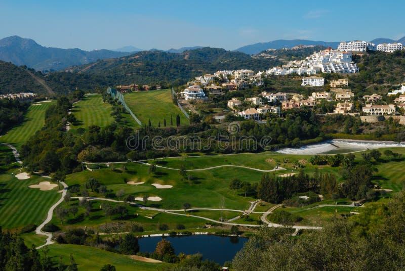 Los Arqueros golf stock afbeeldingen