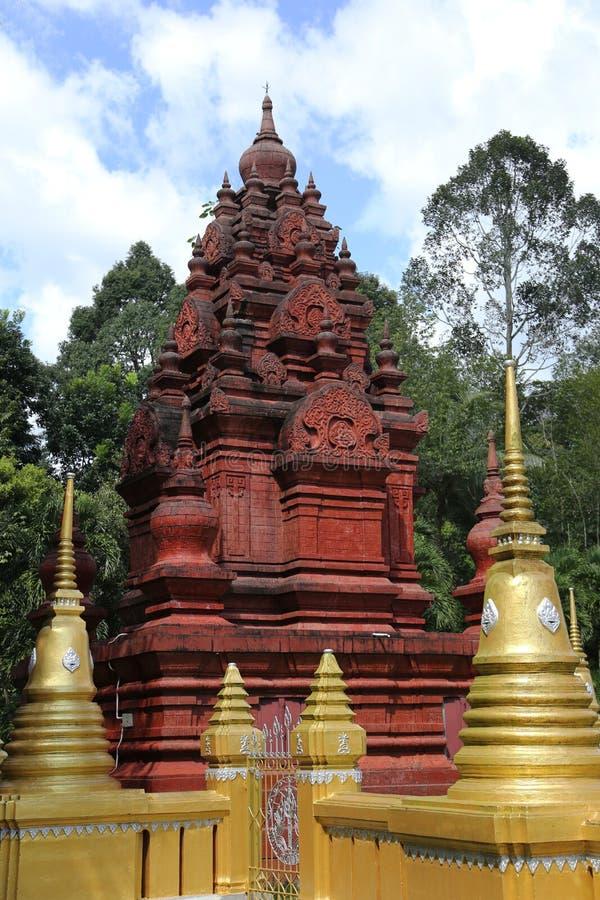 Los artes del templo hermoso foto de archivo libre de regalías