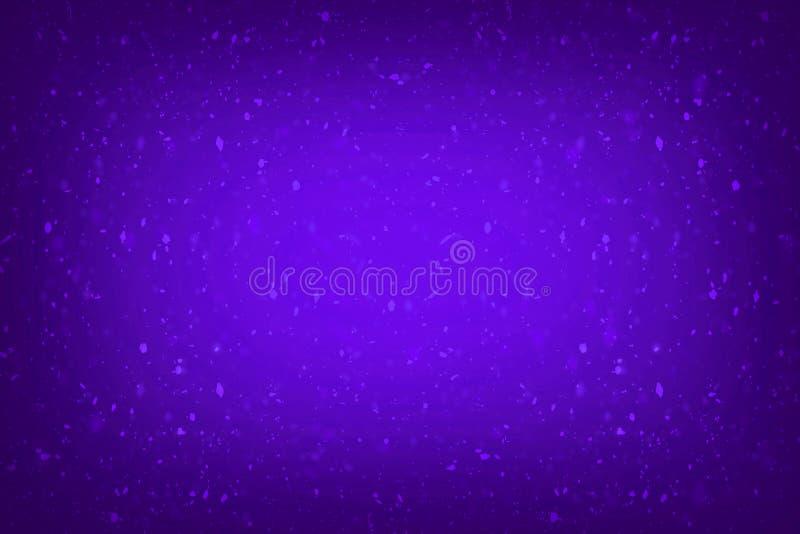 Los azules marinos brillan para el fondo abstracto de princesa Baby Girl Birthday del fondo, azul marino brillan las luces del vi libre illustration