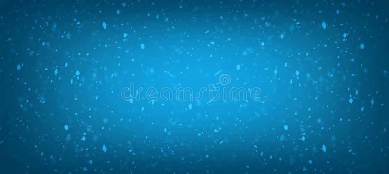 Los azules marinos brillan para el fondo abstracto de princesa Baby Girl Birthday del fondo, azul marino brillan las luces del vi ilustración del vector