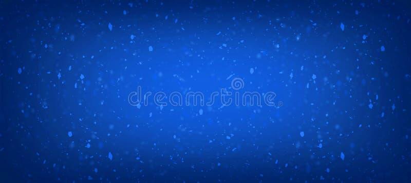 Los azules marinos brillan para el fondo abstracto de princesa Baby Girl Birthday del fondo, azul marino brillan las luces del vi stock de ilustración
