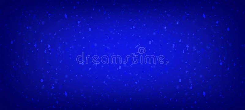 Los azules marinos del fondo del color del oro colorean con consideran que el color contiene textura libre illustration