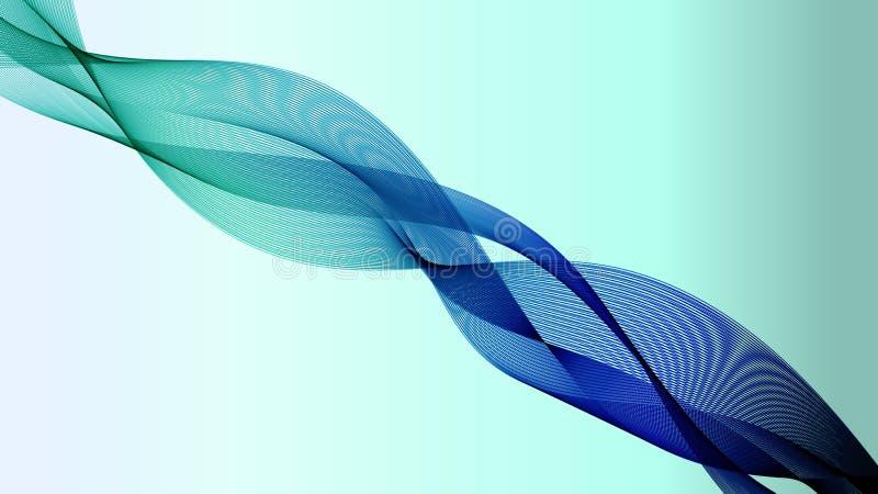 Los azules turquesa alisan la banda fotos de archivo libres de regalías