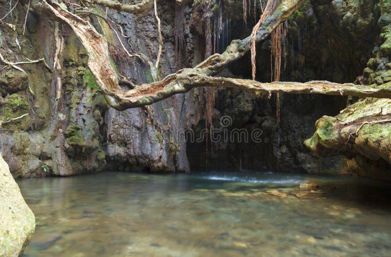 Los baños del Aphrodite foto de archivo libre de regalías