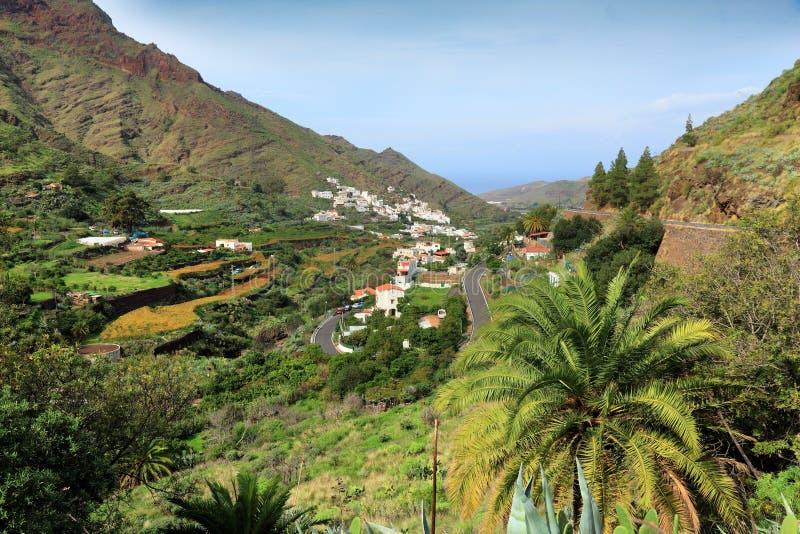 Los Berrazales, Gran Canaria. Gran Canaria landscape, Spain. Los Berrazales canyon royalty free stock photography