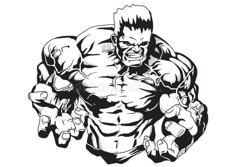 Los brazos vigorosos ilustración del vector