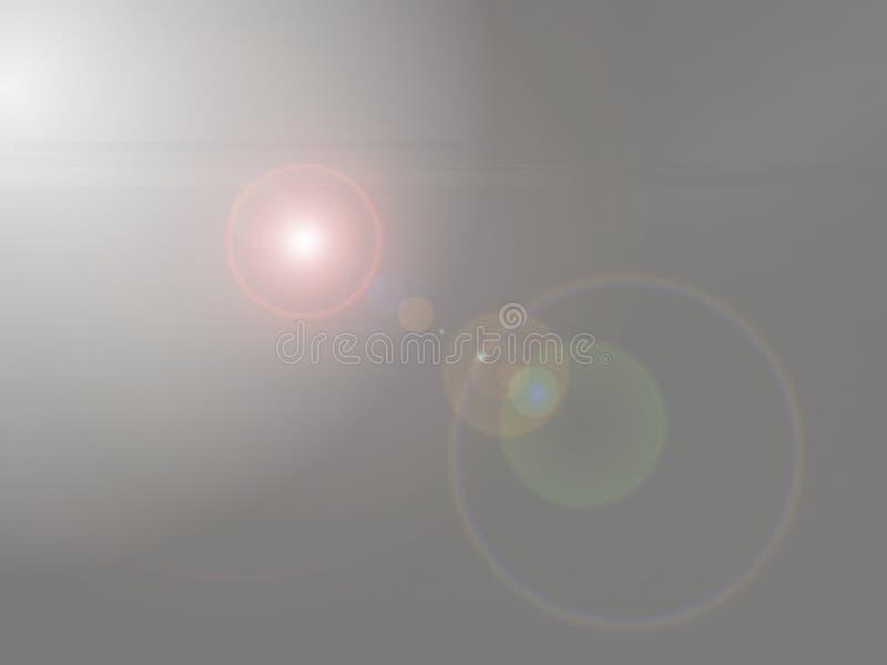 Los círculos de los intocables - luz gris; Fondo abstracto imágenes de archivo libres de regalías