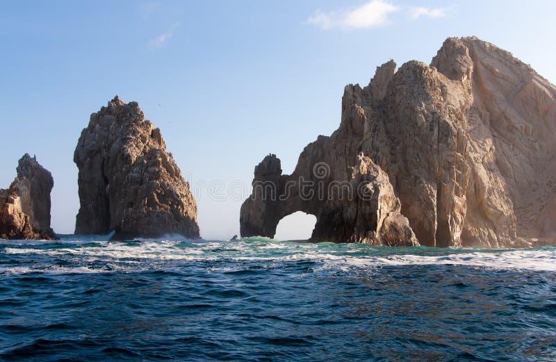 Los Cabos Arch. The arch in Los Cabos, Mexico stock photography