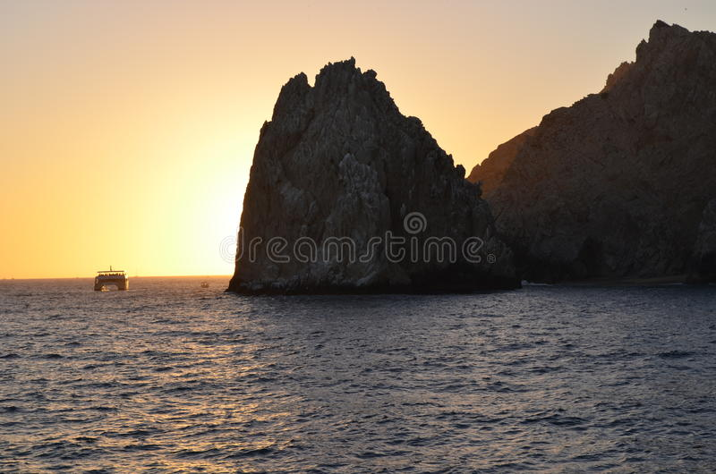 Los cabos in Mexico royalty free stock images