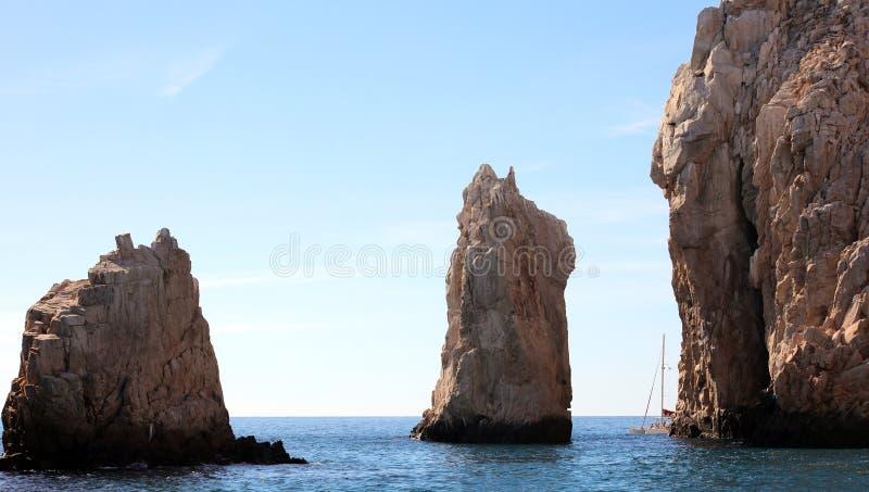 Los Cabos Mexique vue de San Lucas de cabo d'EL Arco de voûte l'excellente photographie stock