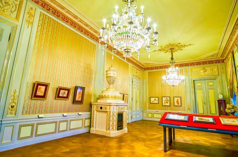 Los camarotes del museo de Albertina Palace en Viena, Austria fotografía de archivo libre de regalías