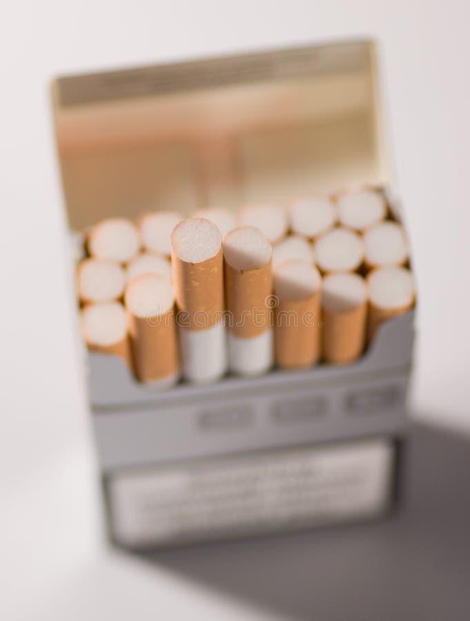 Los cigarrillos se cierran para arriba fotografía de archivo libre de regalías
