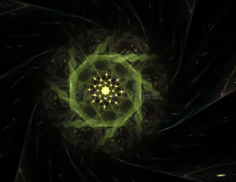 Los colores en la serie, pintura de lujo El fondo consiste en textura del color del fractal y es conveniente para el uso en proye fotos de archivo