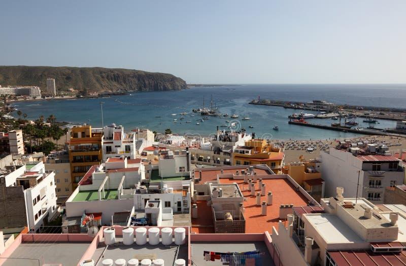 Los Cristianos, Tenerife fotografia de stock