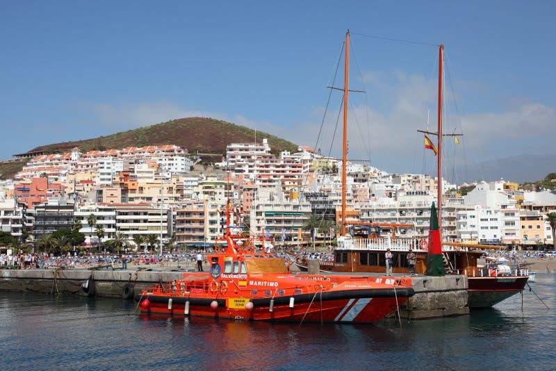 Los Cristianos, Tenerife royalty-vrije stock foto's