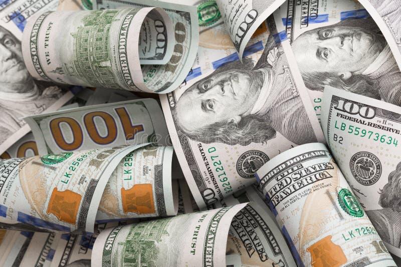 Los dólares mienten caótico - imagen imagen de archivo
