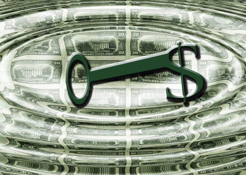 Los dólares son el clave libre illustration