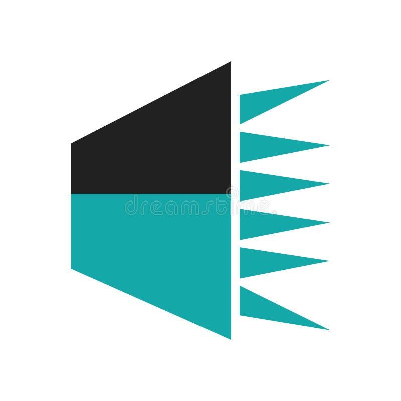 Los datos del discurso interconectan la muestra audio y el símbolo aislados en el fondo blanco, símbolo audio del vector del icon ilustración del vector