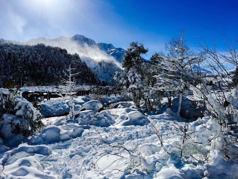 Los de Andes royalty-vrije stock fotografie