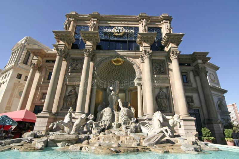 Los departamentos del foro - Las Vegas foto de archivo