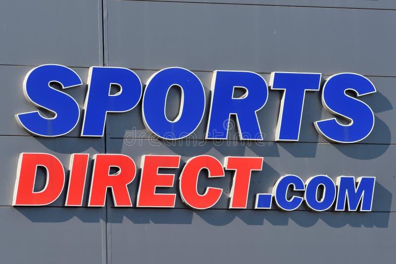 Los deportes dirigen el logotipo en Vilna fotos de archivo libres de regalías