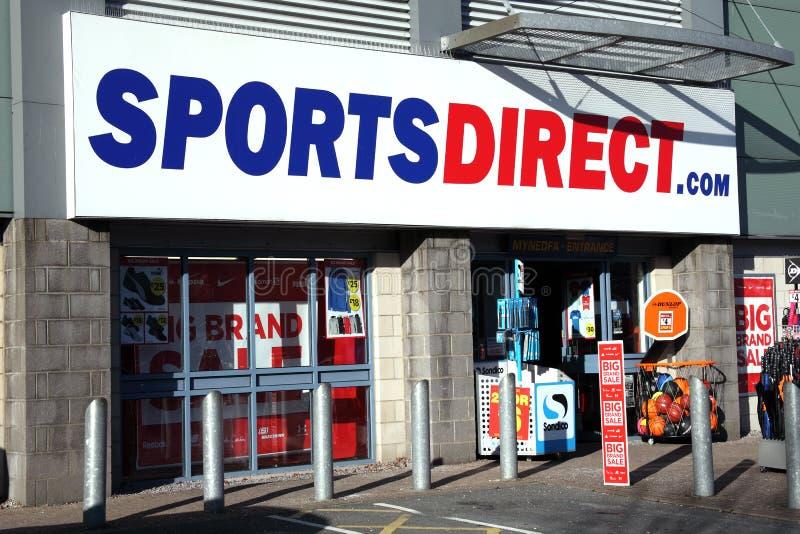 Los deportes dirigen la tienda fotos de archivo libres de regalías