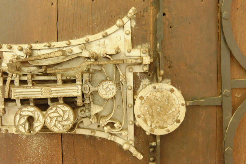 Los detalles de la arquitectura en Biertan fortificaron la iglesia, Rumania imagen de archivo libre de regalías