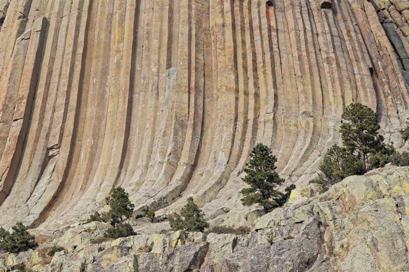 Los detalles de las cuestas de las rocas de diablos se elevan fotografía de archivo libre de regalías