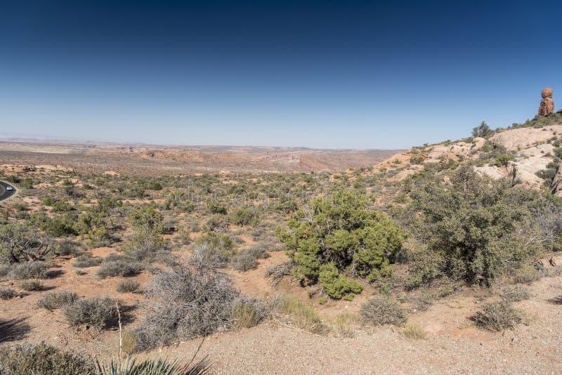 Los diablos cultivan un huerto, arquean el parque nacional Moab Utah fotos de archivo libres de regalías