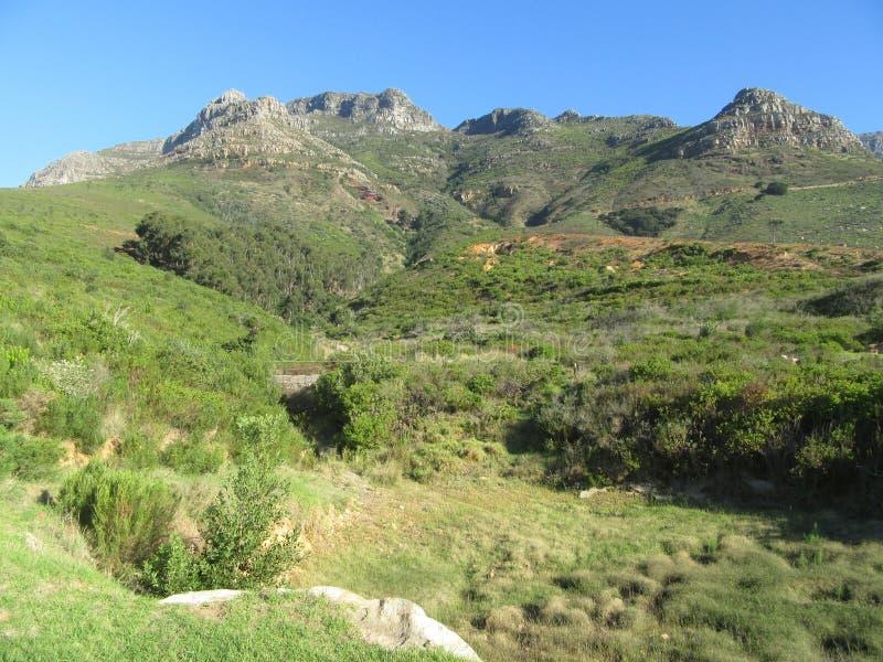 Los diablos enarbolan la parte de la reserva de naturaleza de la montaña de la tabla fotografía de archivo libre de regalías
