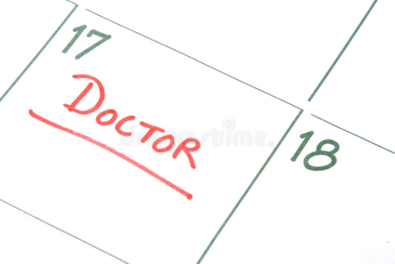 Los doctores Appointment foto de archivo libre de regalías