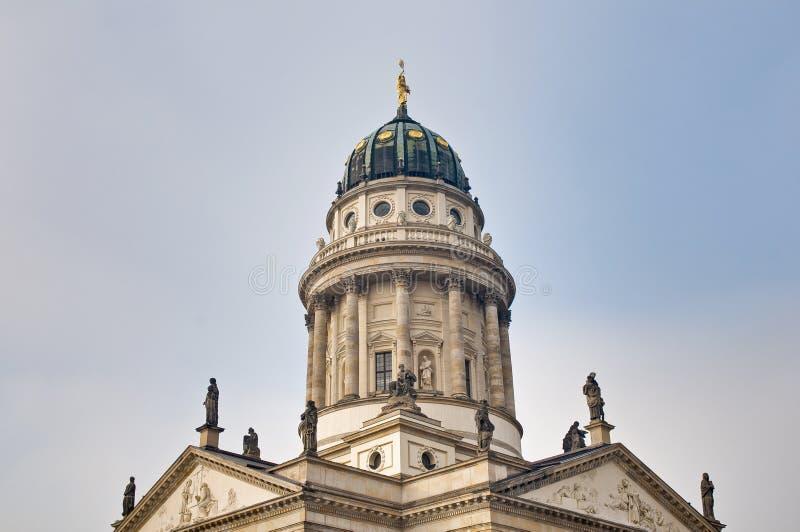 Los Dom de Franzosischer en Berlín, Alemania foto de archivo libre de regalías