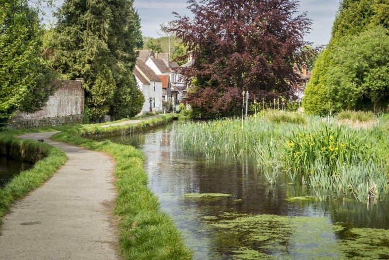 Los Dorp, Kent, het UK stock afbeeldingen