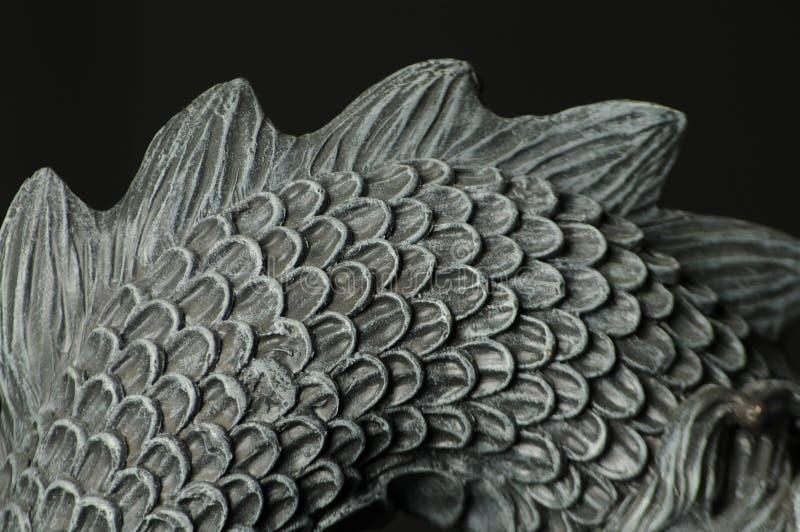 Los dragones mueven hacia atrás imágenes de archivo libres de regalías