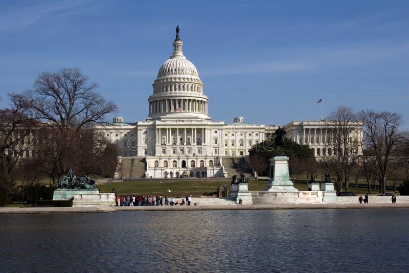 Los E.E.U.U. Capitolio Builing foto de archivo
