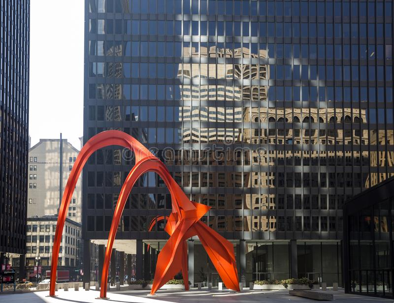 LOS E.E.U.U. - Illinois - Chicago fotos de archivo