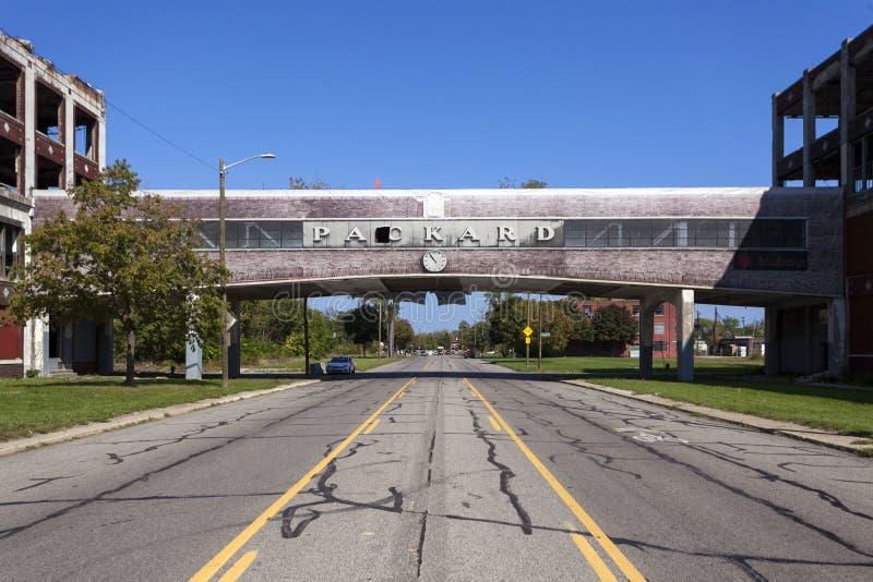 LOS E.E.U.U. - Michigan - Detroit imagenes de archivo