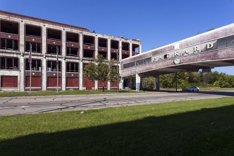 LOS E.E.U.U. - Michigan - Detroit foto de archivo